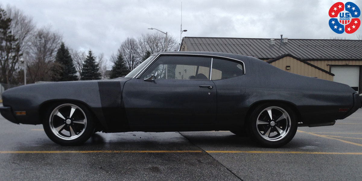 Car | Buick Skylark on US Mags Bandit - U109 Wheels | California Wheels