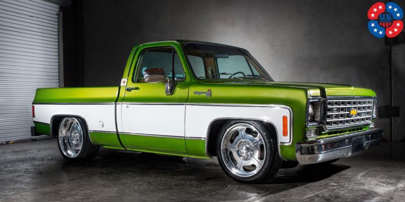 Car   Chevrolet C10 on US Mags Bonneville - u309 Wheels ...