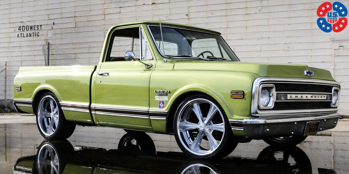 Car | Chevrolet C10 on US Mags Milner - U215 Wheels ...