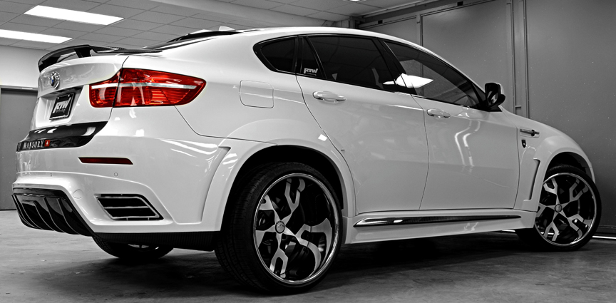 Car Bmw X6 On Forgiato Basamento Wheels California Wheels