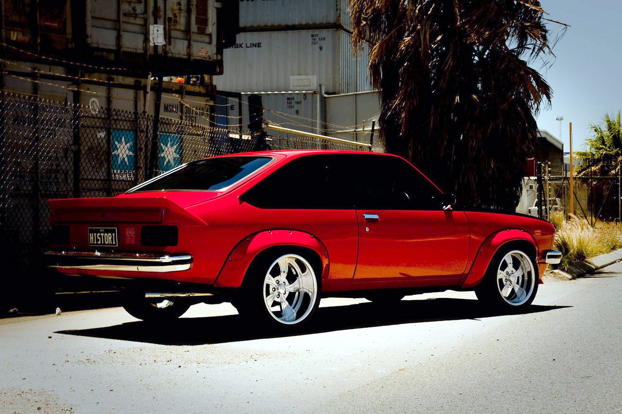 Car Holden Torana On Boyd Coddington Twisted Two Tone