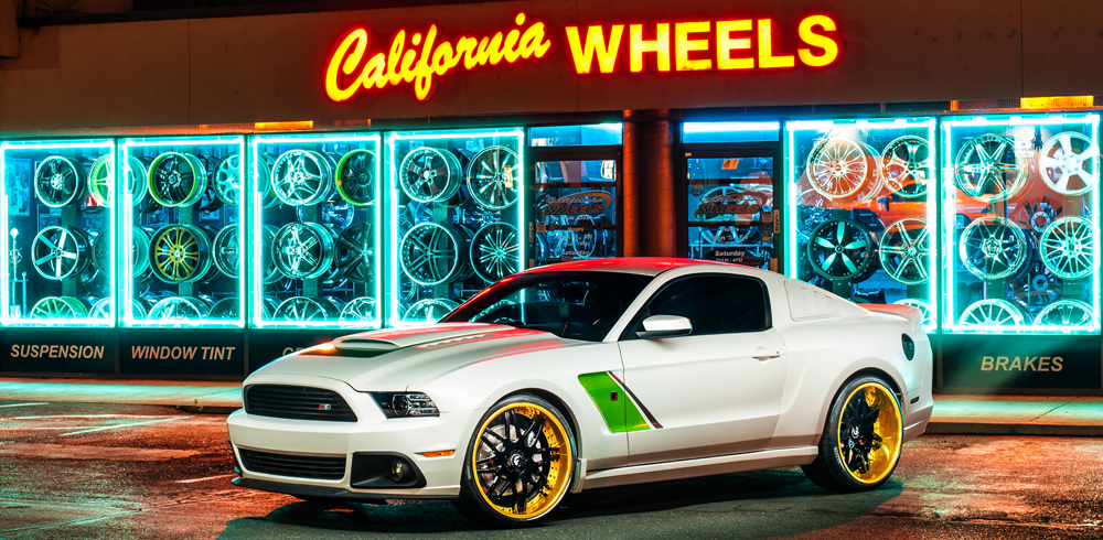 Ford Mustang Roush Forgiato Pinzette
