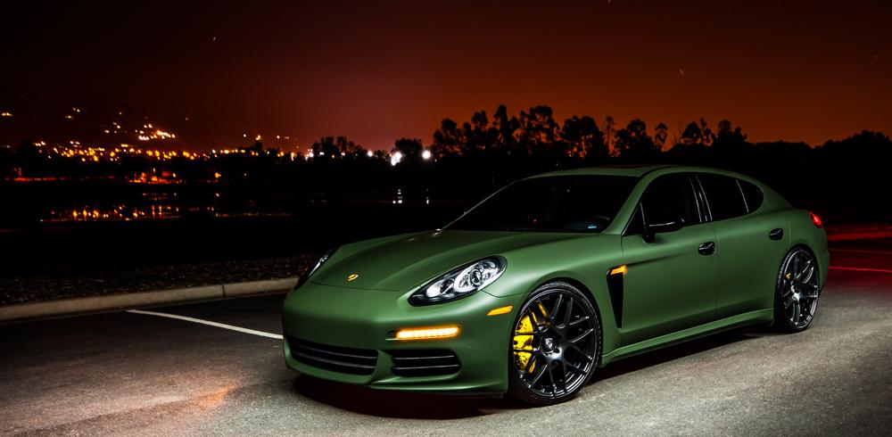 Porsche Panamera Avant Garde Ruger Mesh