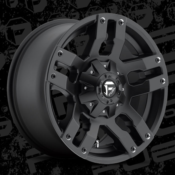 Fuel 1-Piece Wheels Pump - D515 Wheels | California Wheels