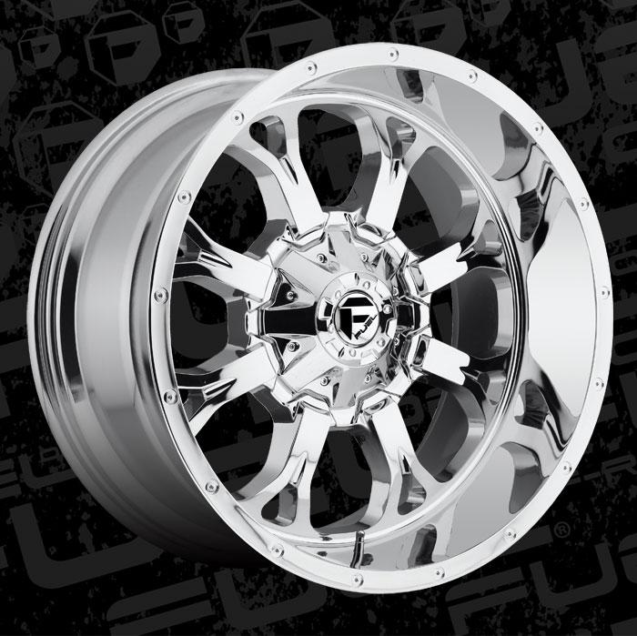 Fuel 1 Piece Wheels Krank D516 Wheels California Wheels
