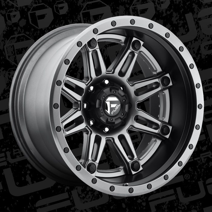 Fuel 2 Piece Wheels Hostage Ii D232 Wheels California