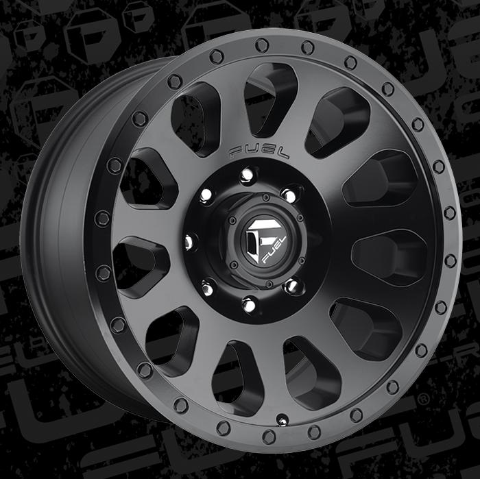 Tacoma Off Road >> Fuel 1-Piece Wheels Vector - D579 Wheels | California Wheels
