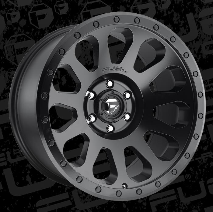 Fuel 1 Piece Wheels Vector D579 Wheels California Wheels