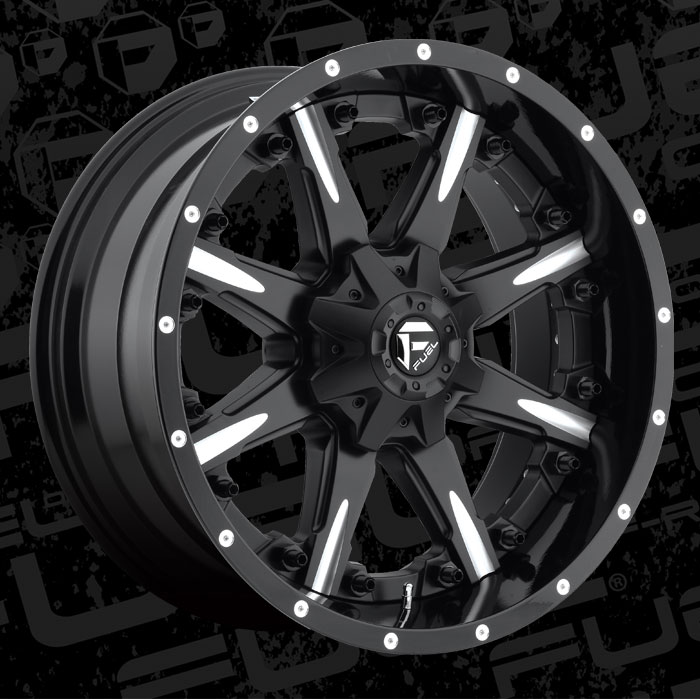 Fuel Wheels 20x9 >> Fuel 2-Piece Wheels Nutz - D251 Wheels | California Wheels