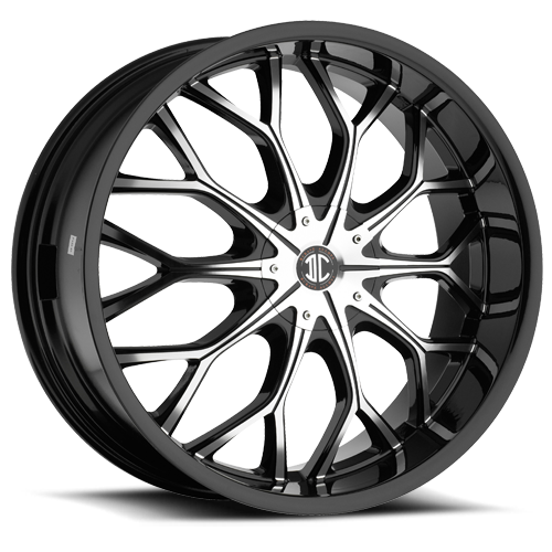 2 crave alloys no9 wheels california wheels Impala On 24s 5 lug no9
