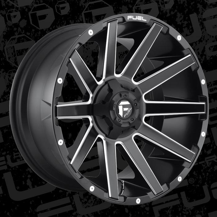 Fuel Wheels 20x9 >> Fuel 1-Piece Wheels Contra - D616 Wheels | California Wheels