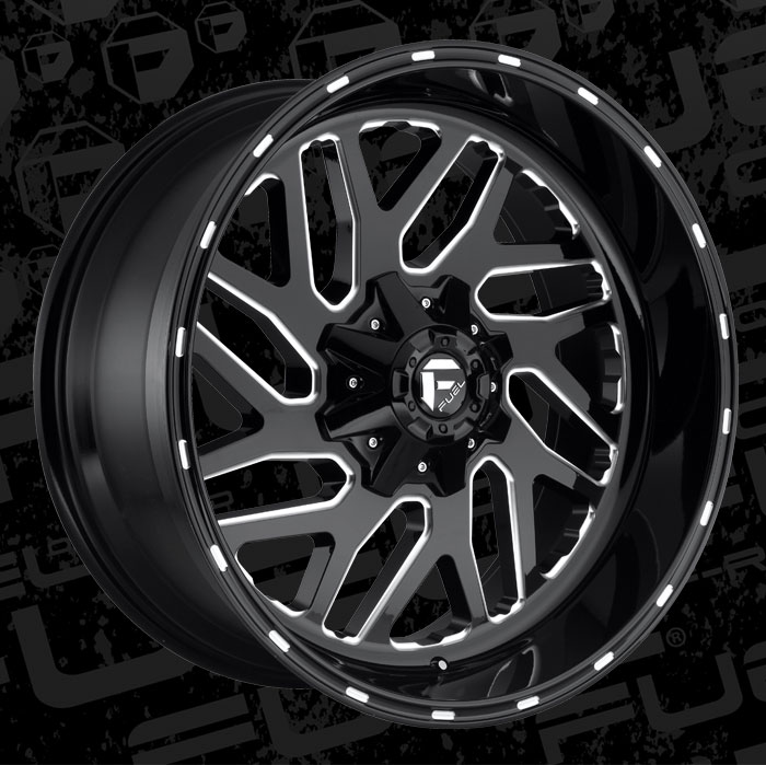 Fuel Wheels 20x9 >> Fuel 1-Piece Wheels Triton - D581 Wheels | California Wheels