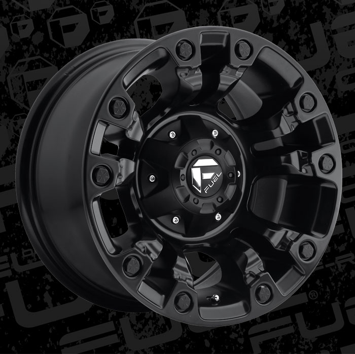 Ford Super Duty >> Fuel 1-Piece Wheels Vapor - D560 Wheels | California Wheels