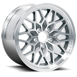 4th Gen Snowflake (Series 616) 5 Silver Machined