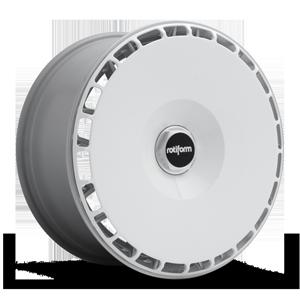 AeroDisc 5 Gloss White w/ Silver Hex