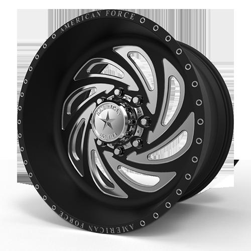 G26 Conquer SF 8 Black Machined
