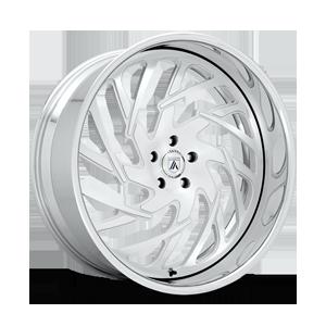 AF864 5 Silver Brushed