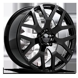 22 inch wheels california wheels 1956 Ford Crestline liquid silver aff07 5 piano black