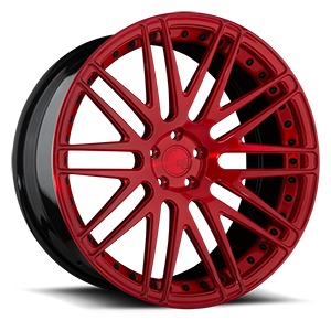 AGL10 Monoblock 5 Brushed Candy Red Gloss