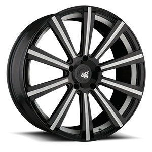 AGL11 Monoblock 5 Gloss Black with White Accents