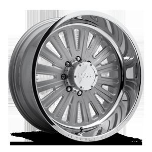 Ascot - Forged HD 8 Silver w/ Polished Lip