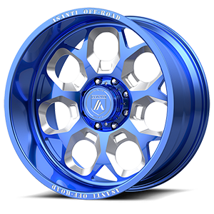 AB110 8 Blue & Milled