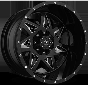 71R Avenger 8 Black & Machined