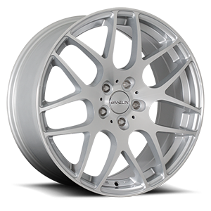 BR06 5 Gloss Silver Machined