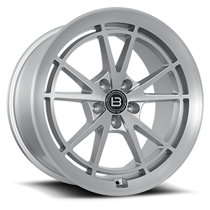 BR11 5 Satin Silver With Satin Machined Face - 47353