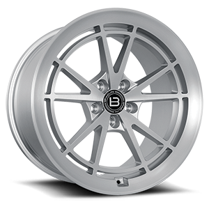 BR11 5 Satin Silver With Satin Machined Face - 47354