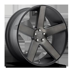 Baller - S116 6 Black & Machined with Dark Tint