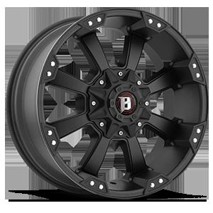 845 Morax 6 Flat Black