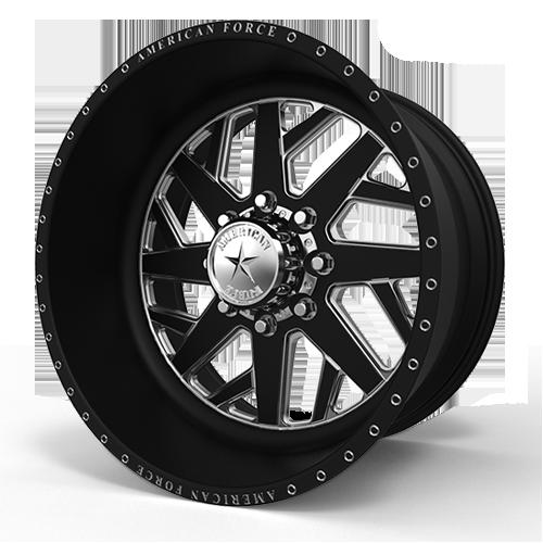 F104 Clipper SF 8 Black Machined