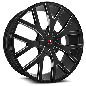 CLV-15 5 Gloss Black Milled