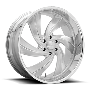 Cyclone 6 - Precision Series 6 Brushed Gloss Clear w/ Polished Details