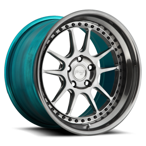 Chicane 5 Polished DDT w/ Teal