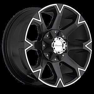 DV8 5 Machined Black