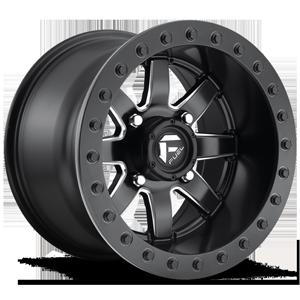 Maverick Beadlock - D928 - UTV 4 Black & Milled