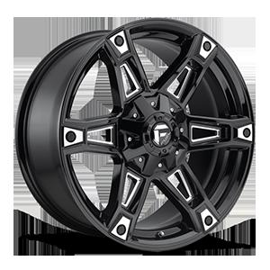 Dakar - D622 5 Gloss Black & Milled