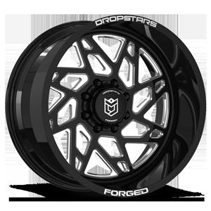 F60 8 Gloss Black w/ CNC Milled Accents