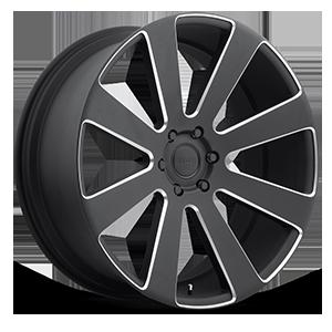 8-Ball - S187 6 Black & Milled