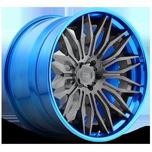 Cavat - XB40 5 Brushed Double Dark Tint | Hi Polish Pica-Blue