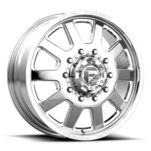 FF09D - 10 Lug Front 10 Polished - 22x8.5