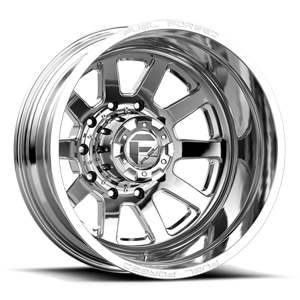 FF09D - 10 Lug Rear 10 Polished - 22x8.5
