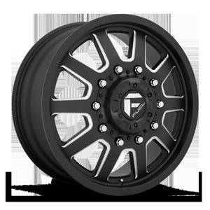 FF09D - Front 10 Matte Black & Milled
