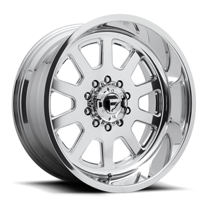 FF09D - 10 Lug Super Single Front 10 Polished