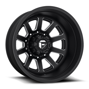FF09D - Rear 10 Matte Black & Milled