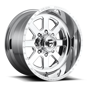 FF09D - 8 Lug Super Single Front 8 Polished