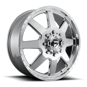 FF09D - 8 Lug Front 8 Polished