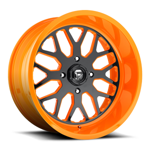 FF19 - UTV 4 Gloss Black Face | Orange